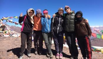 Ladakh women's trekking company