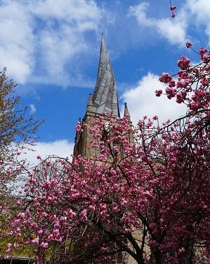 Chesterfield Church Spire
