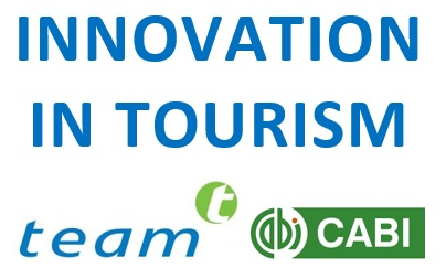 Innovation in Tourism Logo (TEAM in partnership with CABI)